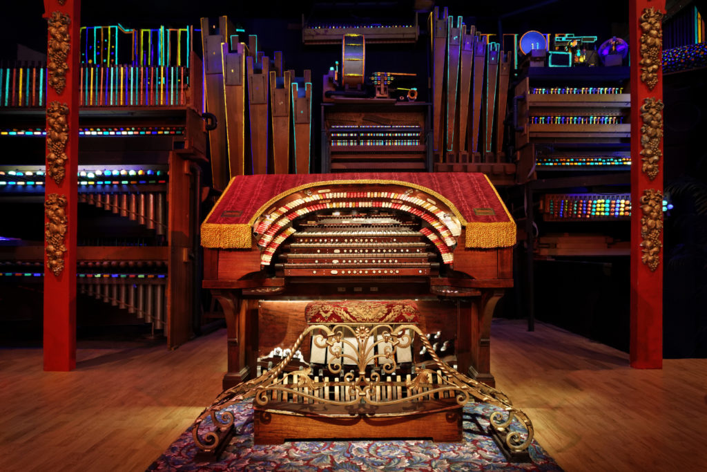 OTMH is home to the Mighty Wurlitzer